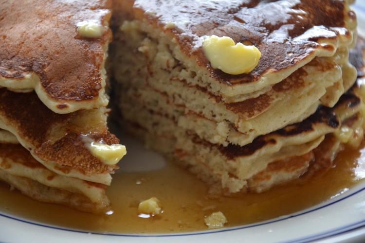 Fluffy Tender Oatsy Pancakes